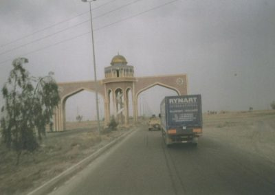 Iraq Tikrit monument
