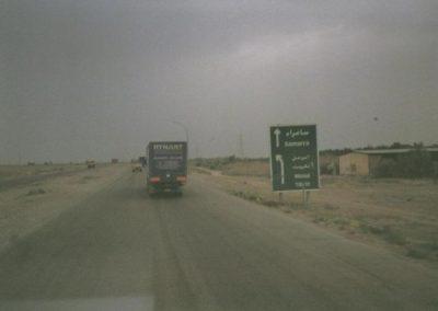Iraq military convoi samarra