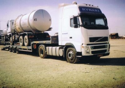Iraq unloading tankers US Airbase