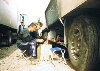 Iraq waiting for convoy